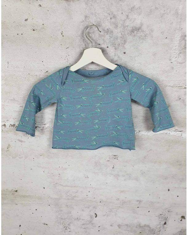 Blue pajamas with crocodiles Stella McCartney Kids - 1