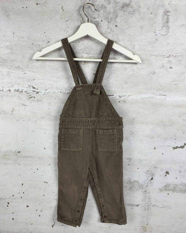 Brown overalls Tocoto Vintage pre-owned