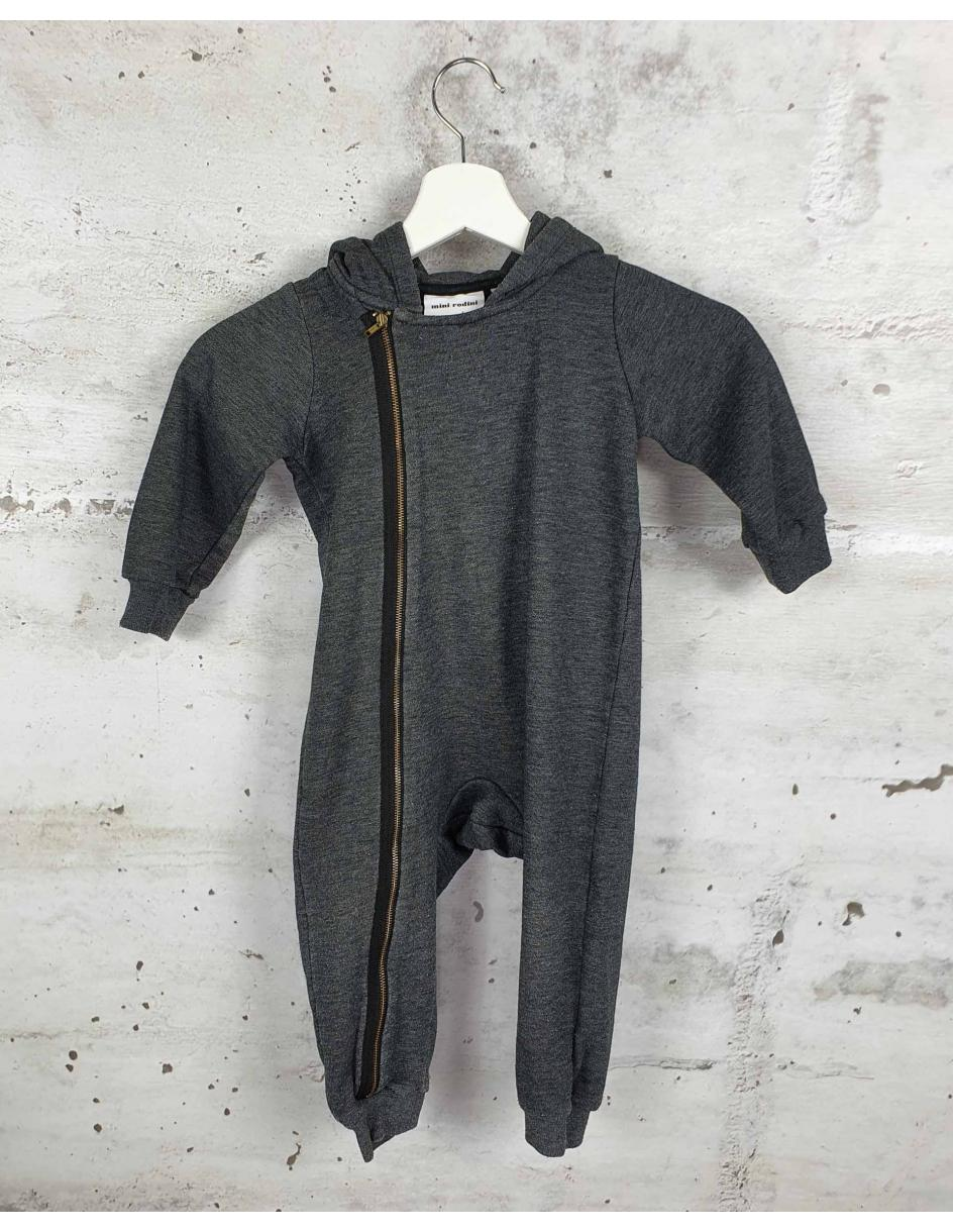 Gray jumpsuit with a zipper Mini Rodini pre-owned