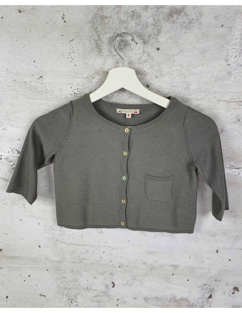 Grey sweater Bonpoint pre-owned