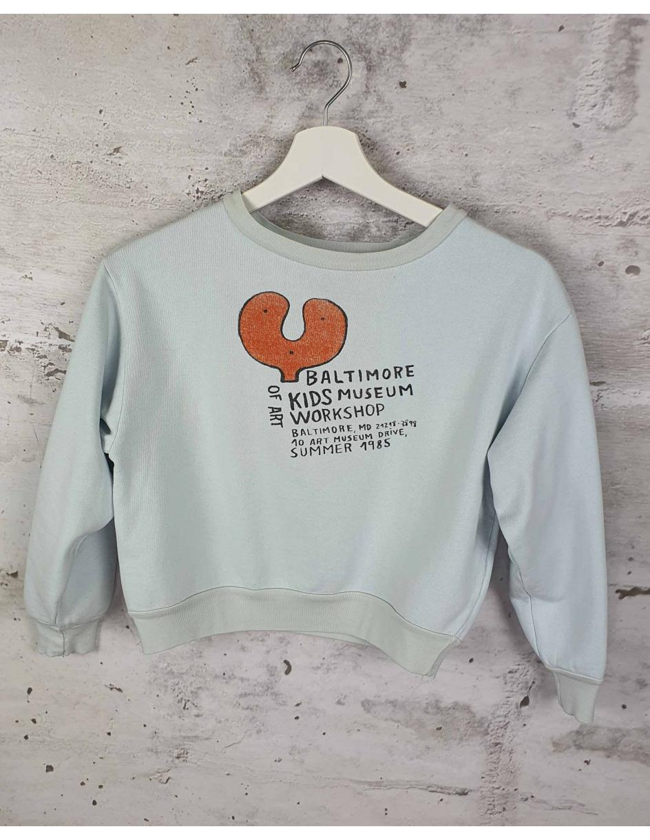 Blue sweatshirt with a print The Animals Observatory pre-owned