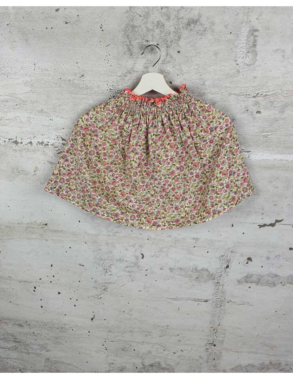 Colorful skirt with flowers Minabulle - 1