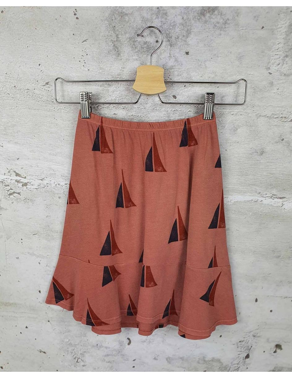 Pink skirt Bobo Choses pre-owned