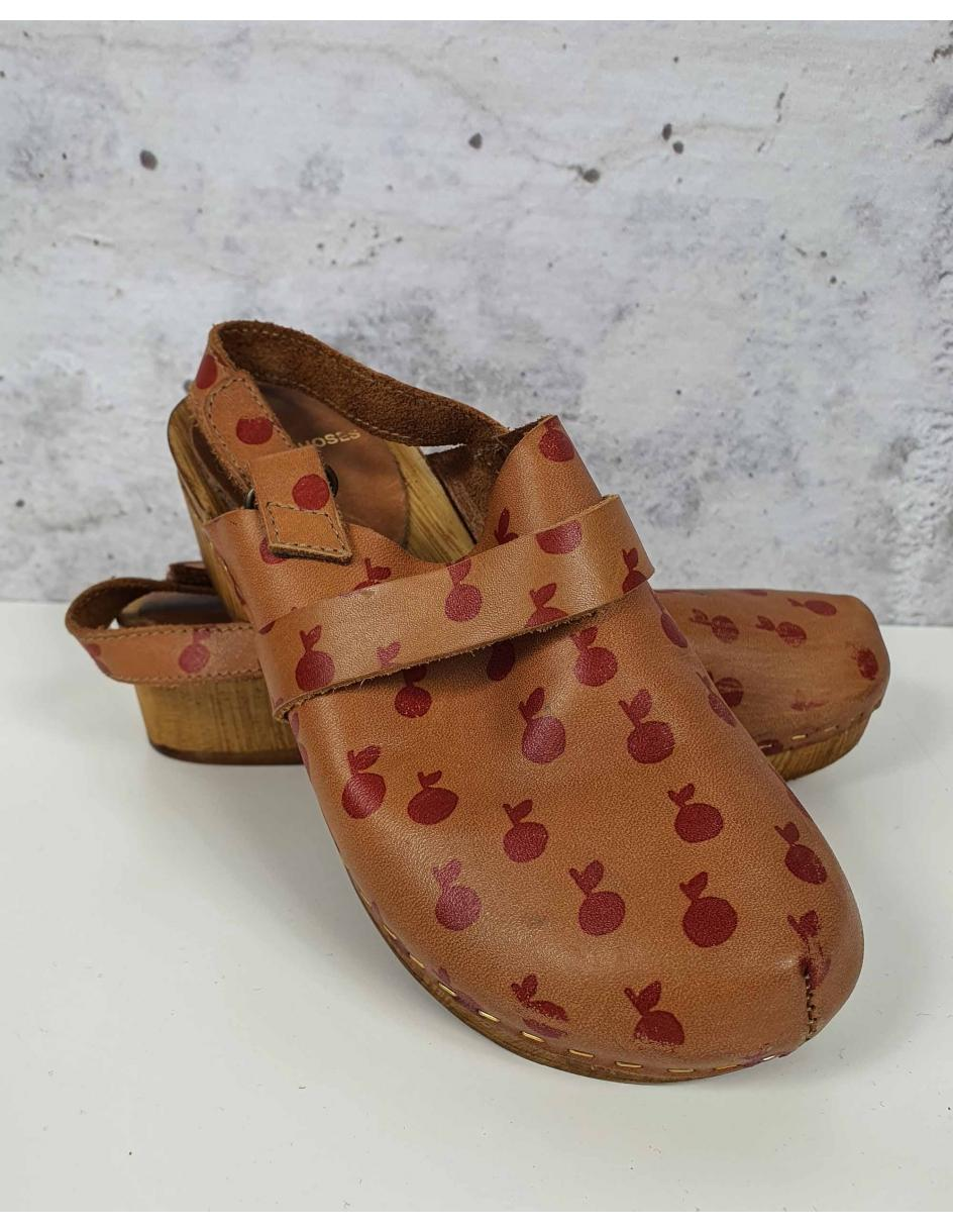 Brown leather shoes Bobo Choses - 1