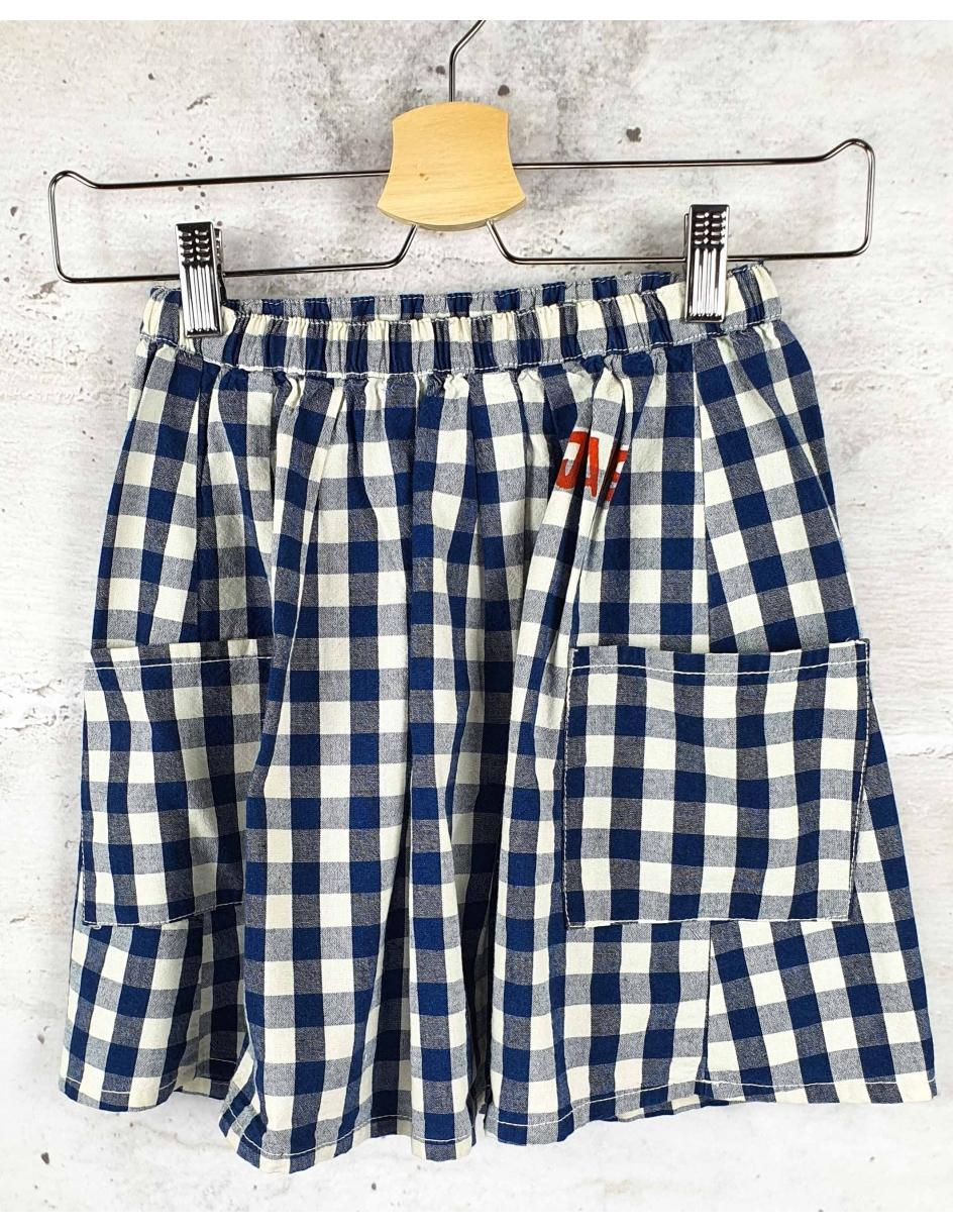 Checked skirt Bobo Choses pre-owned
