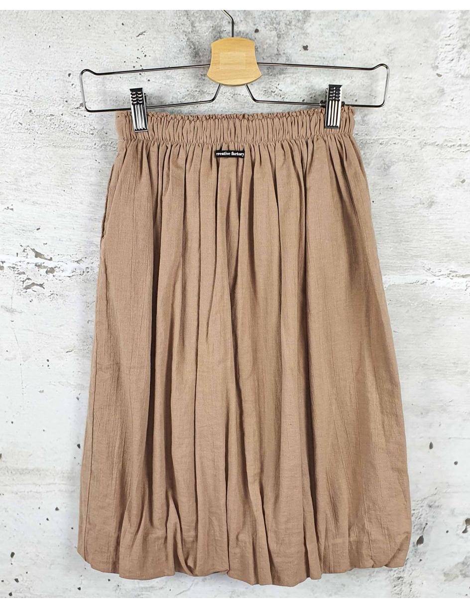 Beige skirt Little Creative Factory pre-owned