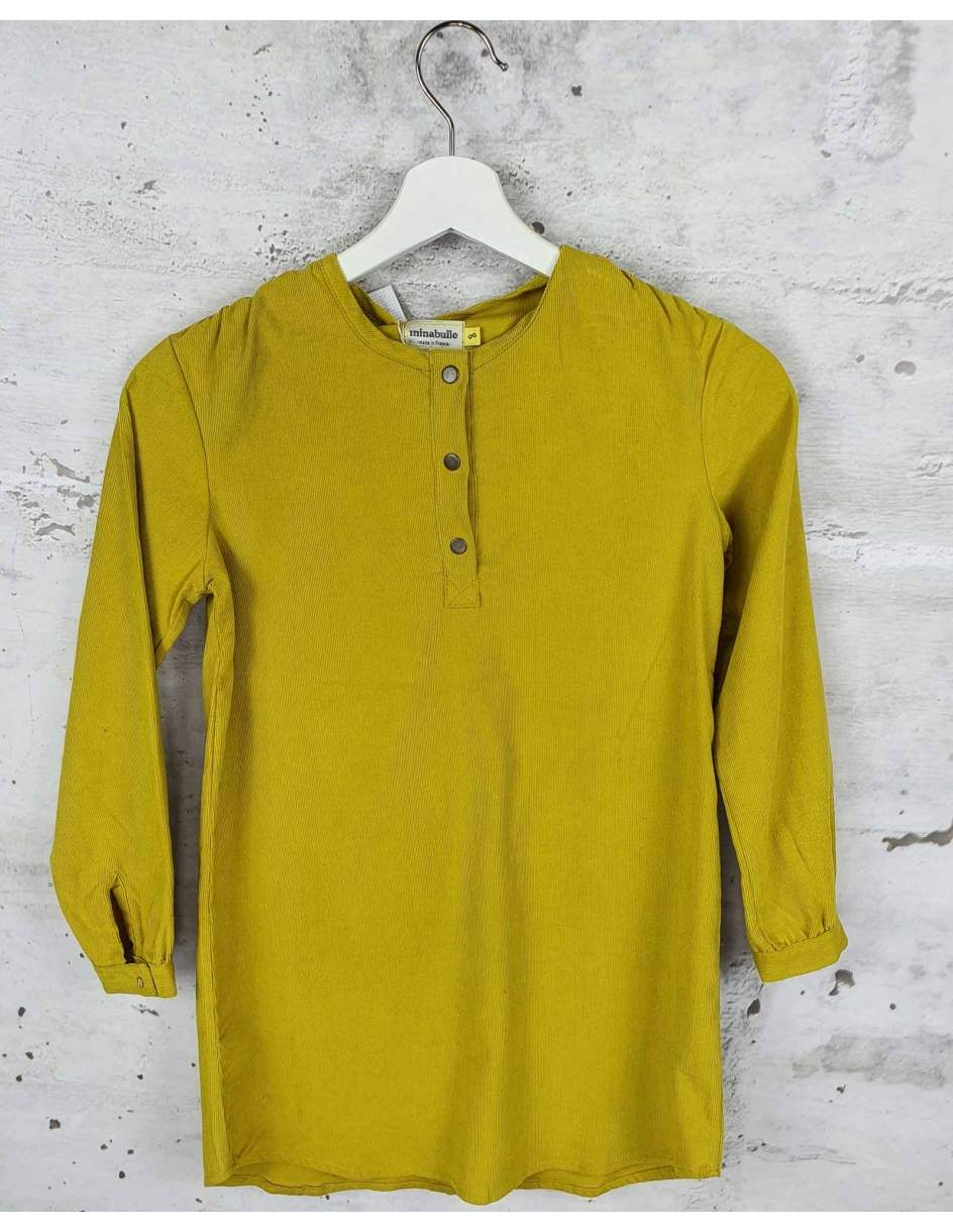 Mustard corduroy dress Minabulle pre-owned