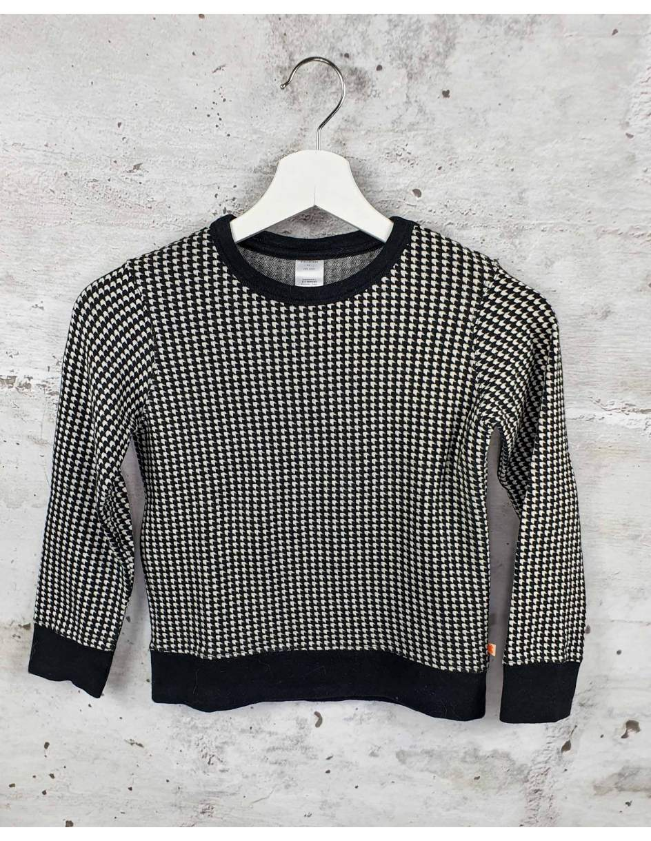 Black houndstooth sweatshirt Tiny Cottons pre-owned
