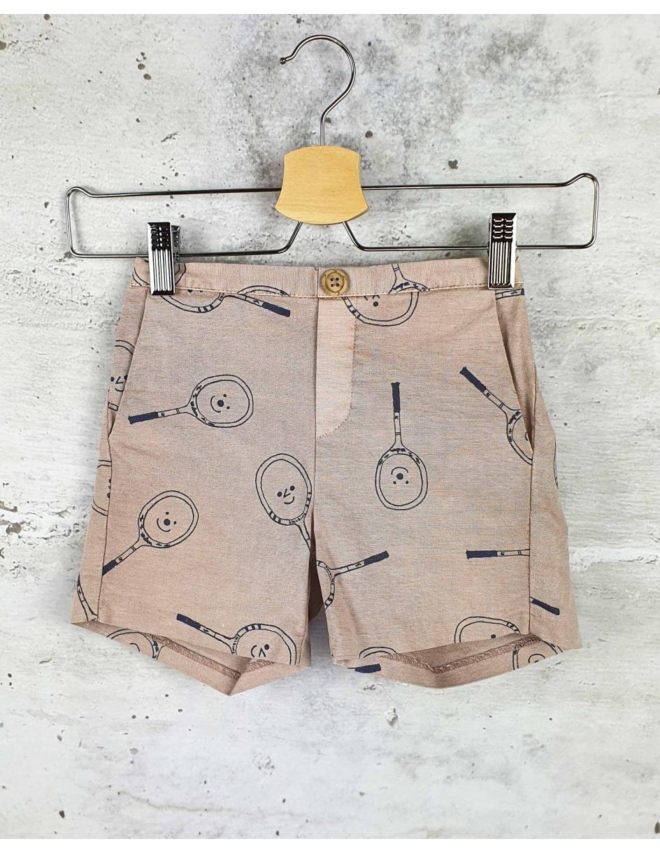 Beige shorts with a print Bobo Choses - 1