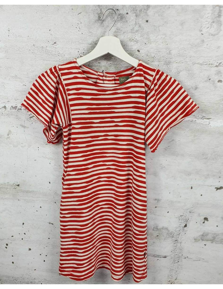 Red striped dress  pre-owned