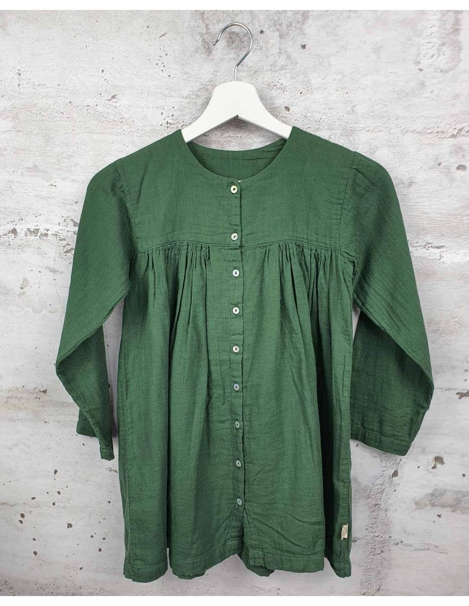 Green dress Poudre Organic pre-owned