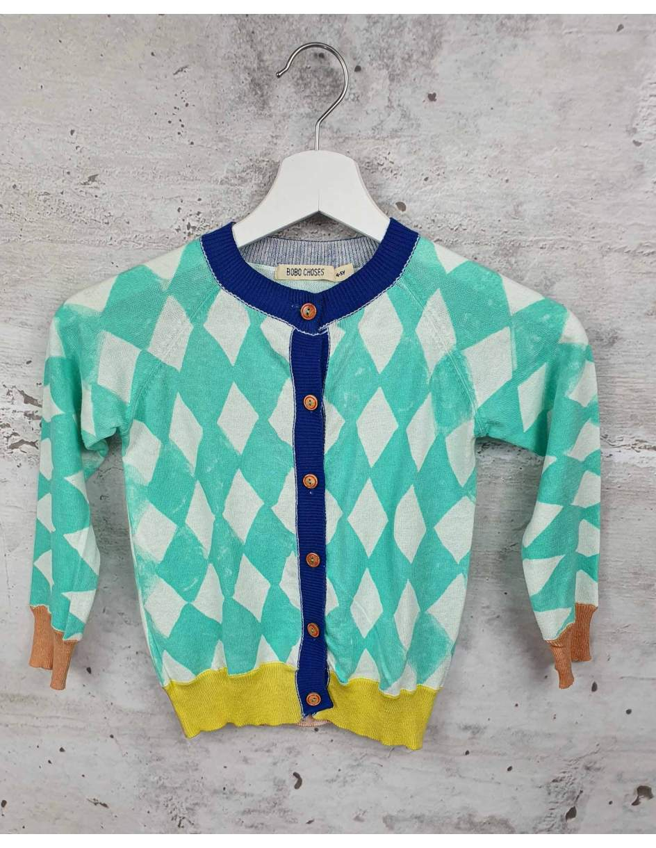 Colorful sweater with buttons Bobo Choses pre-owned