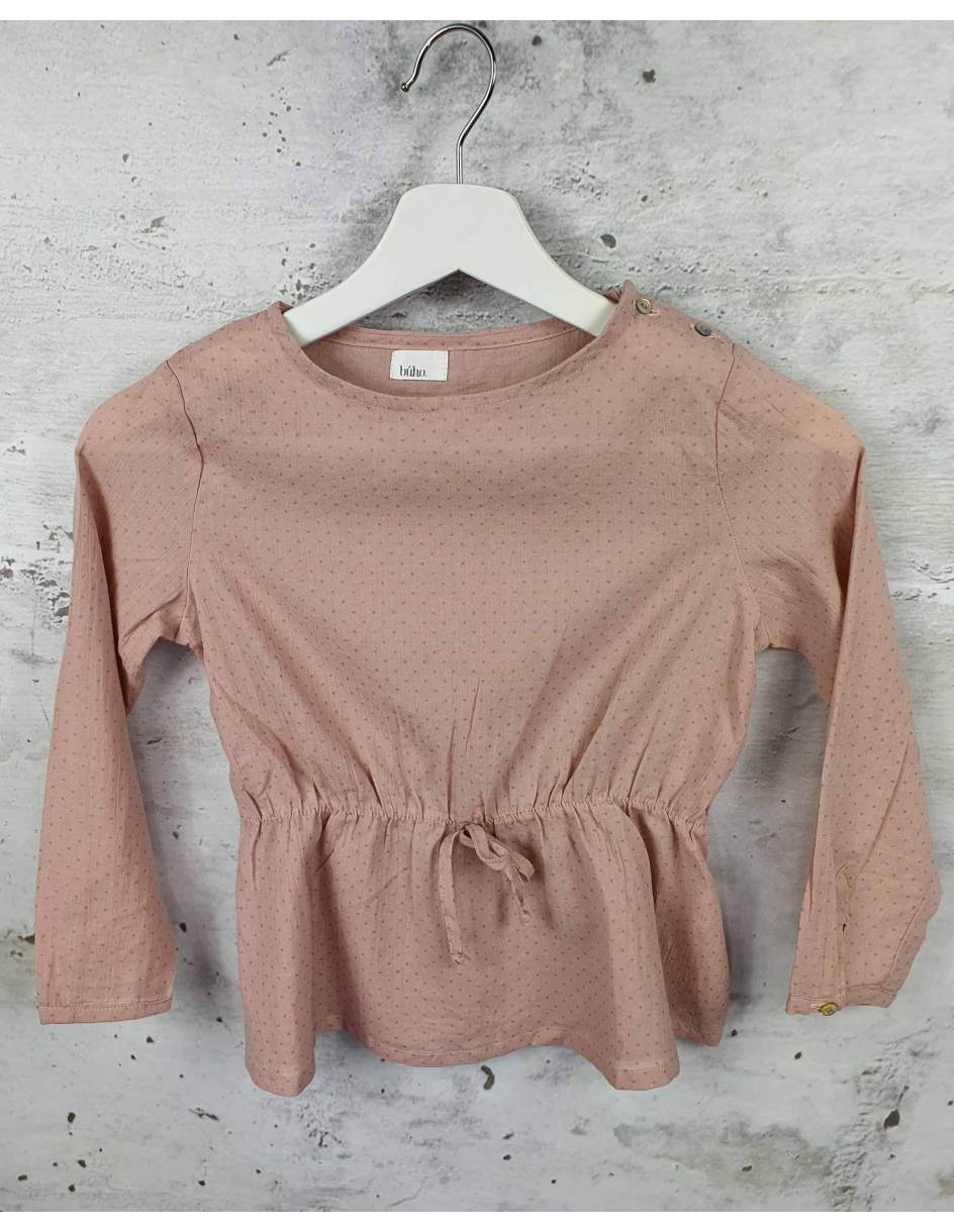 Pink blouse with a welt Buho Barcelona pre-owned