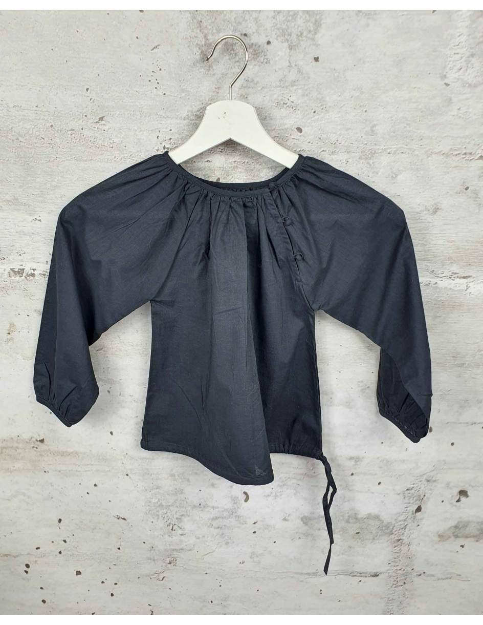 Gray blouse with buttons Ketiketa pre-owned