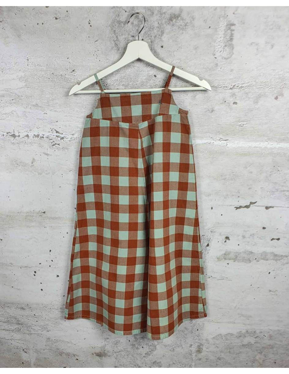 Checked jumpsuit Bobo Choses pre-owned