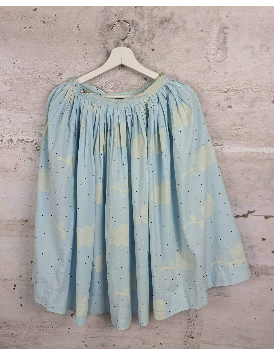 Blue midi skirt The Animals Observatory pre-owned