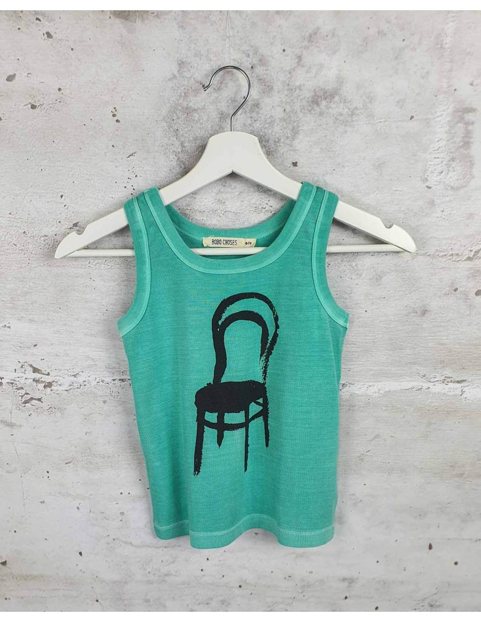 Green t-shirt with print Bobo Choses pre-owned