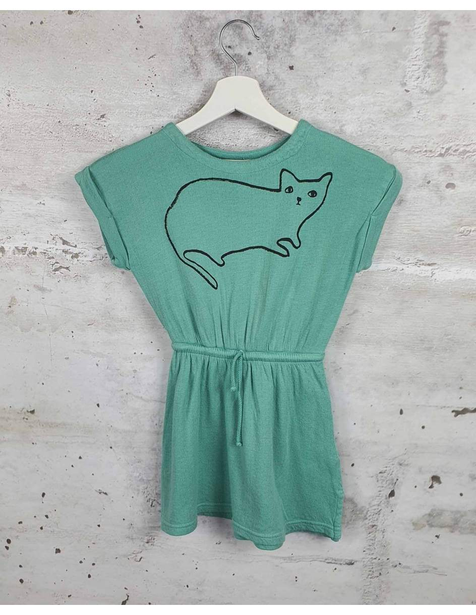 Green dress with a print Bobo Choses - 0