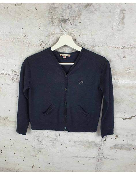 Black sweater with buttons Bonpoint pre-owned