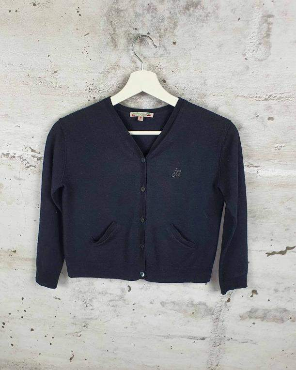 Black sweater with buttons Bonpoint - 1