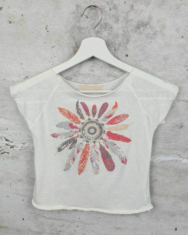 White blouse with a print Zadig&Voltaire - 1
