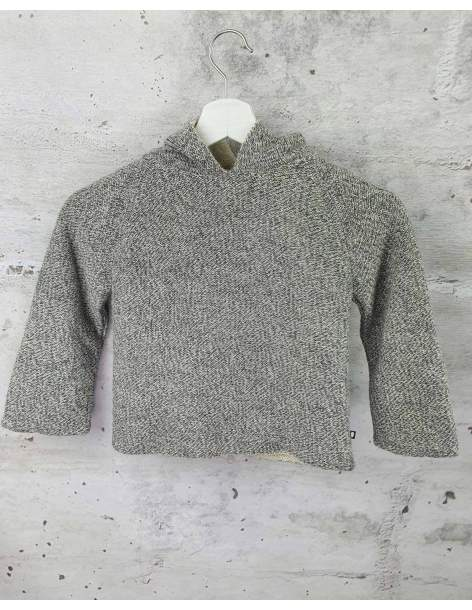 Gray sweater with ears  pre-owned