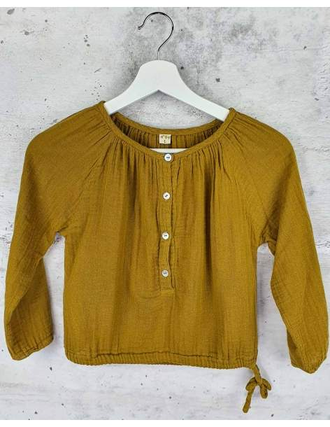 Mustard blouse Numero 74 pre-owned