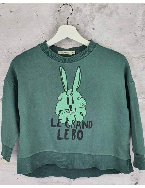 Green sweatshirt with a print Bobo Choses - 1