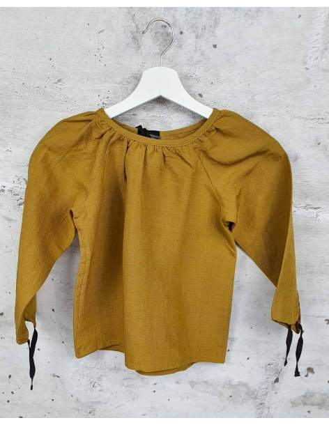Mustard blouse Little Creative Factory pre-owned