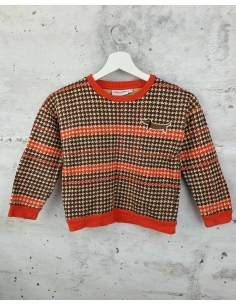 Checked blouse with a print Mini Rodini pre-owned