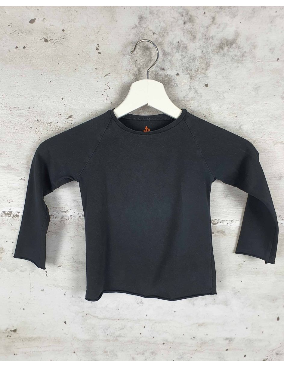 Black blouse with long sleeves Noe & Zoe - 1