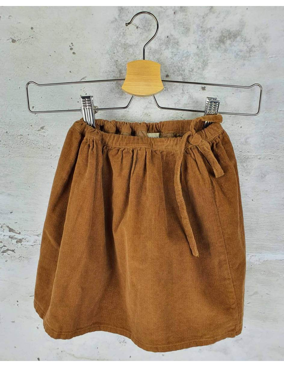 Brown skirt Longlive The Queen - 1