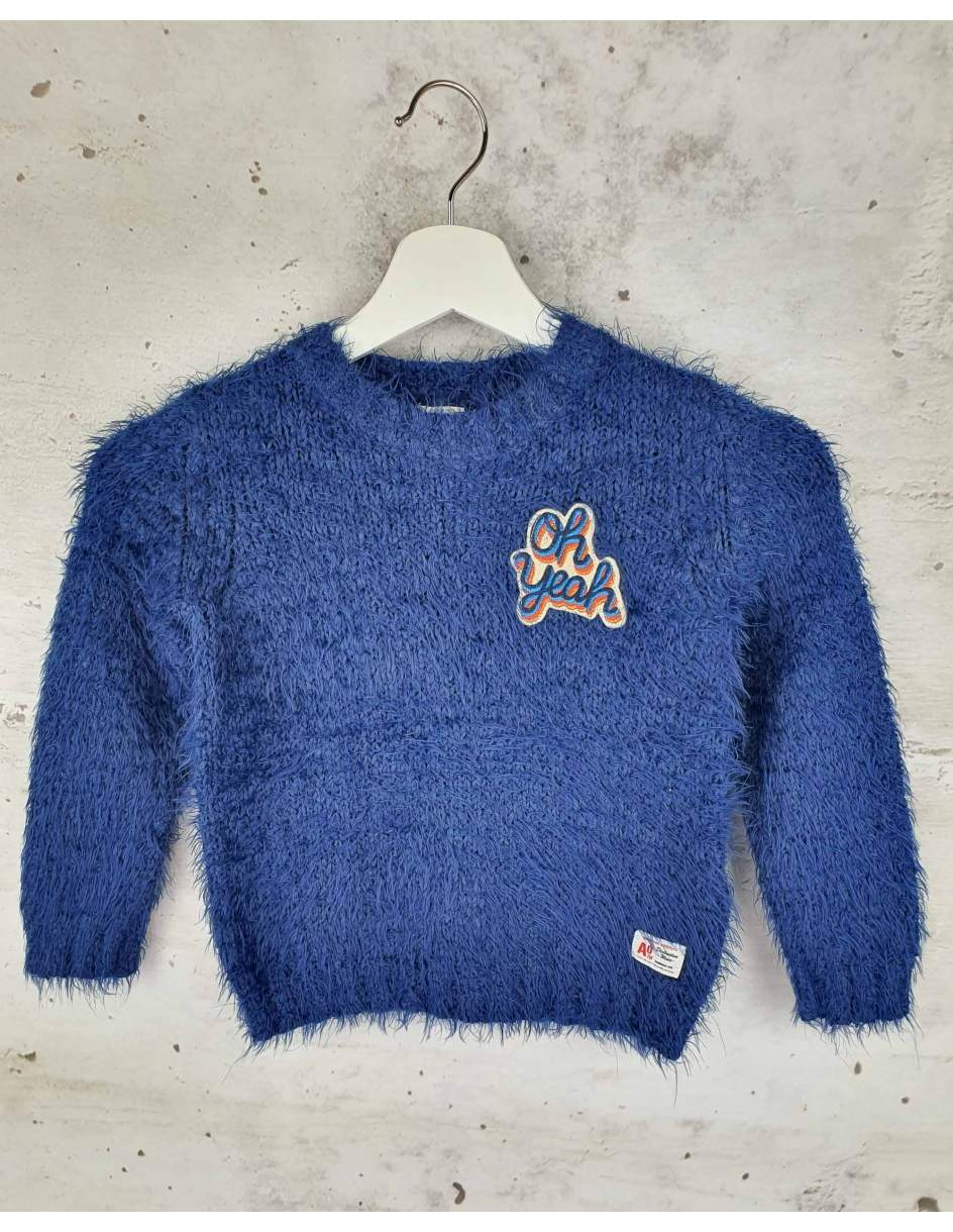 Navy blue sweater AO 76 - 1