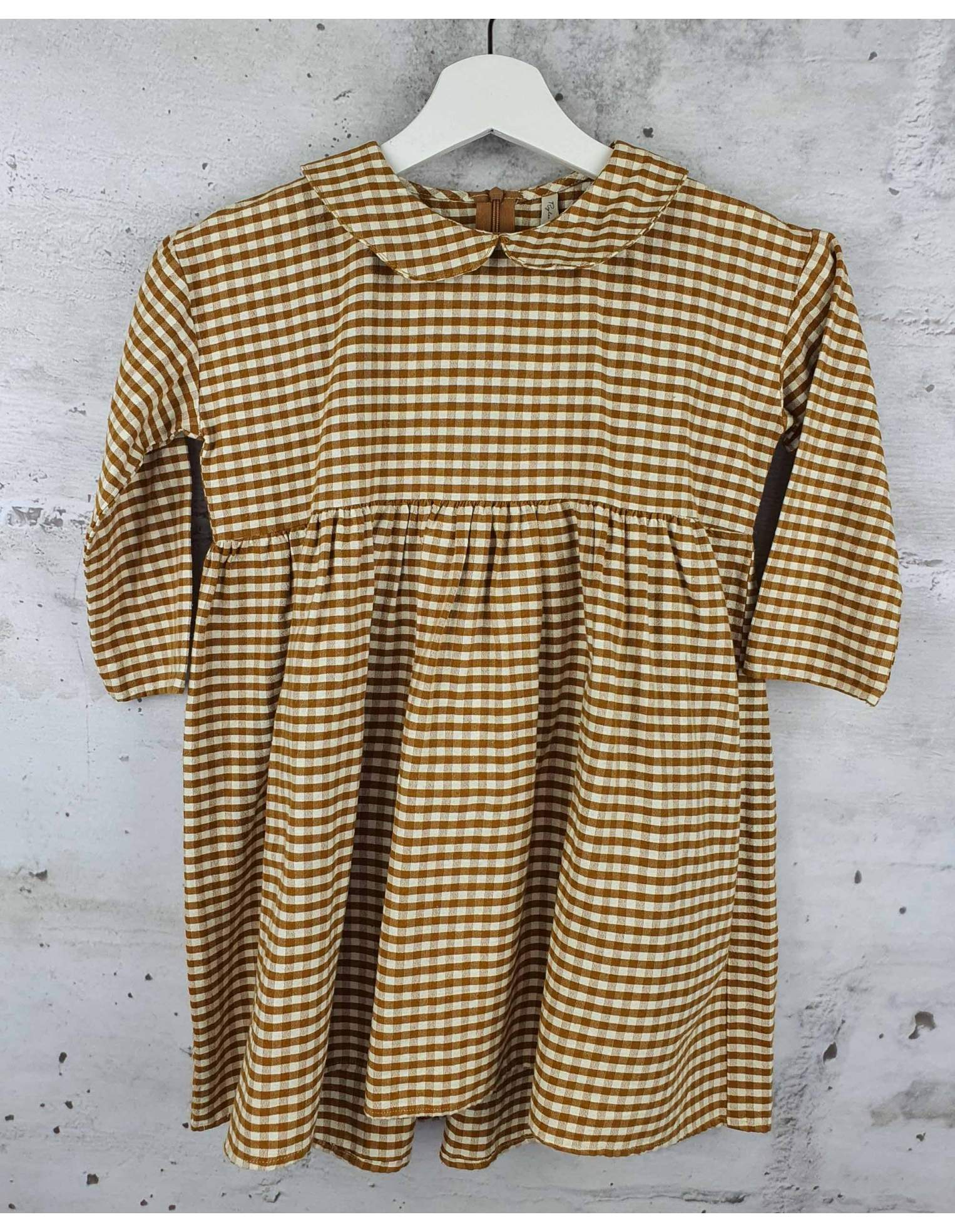 Checked dress Rylee and Cru pre-owned