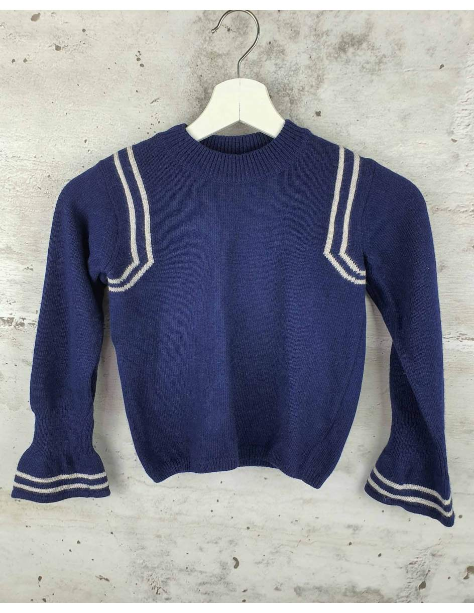 Navy sweater Emile et Ida - 1