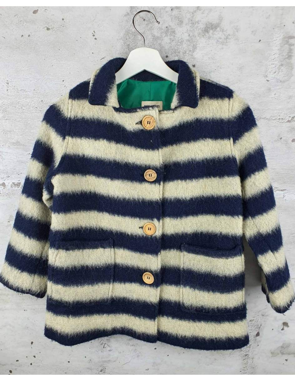Striped coat Bobo Choses - 1
