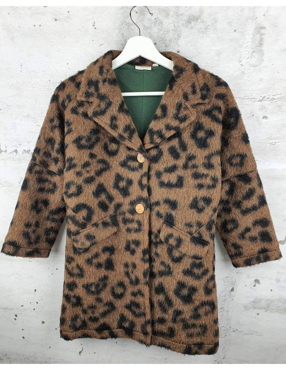 Leopard print coat The Campamento pre-owned