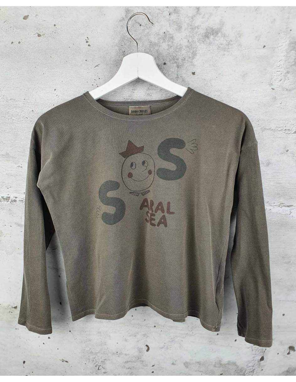 Brown blouse Bobo Choses pre-owned