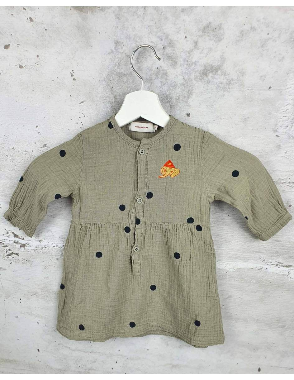 Gray dress Tiny Cottons pre-owned