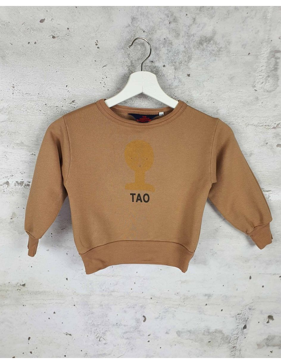 Brown sweatshirt with a print The Animals Observatory pre-owned