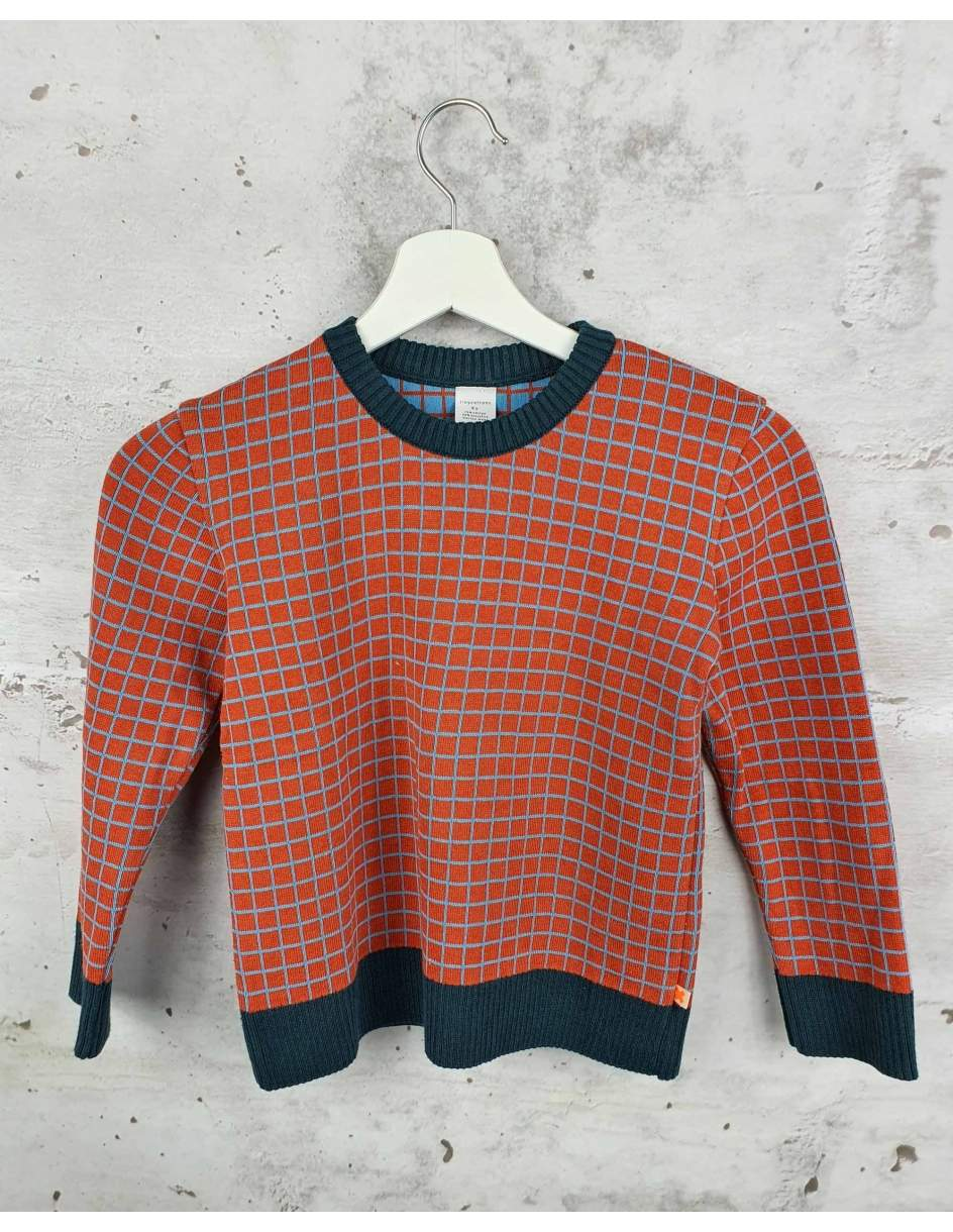 Checked sweater Tiny Cottons pre-owned