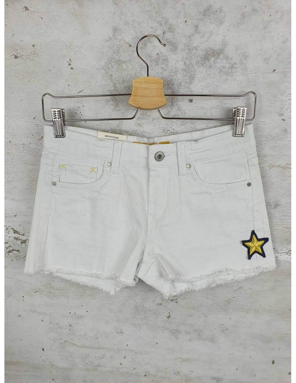 White shorts Pepe Jeans pre-owned