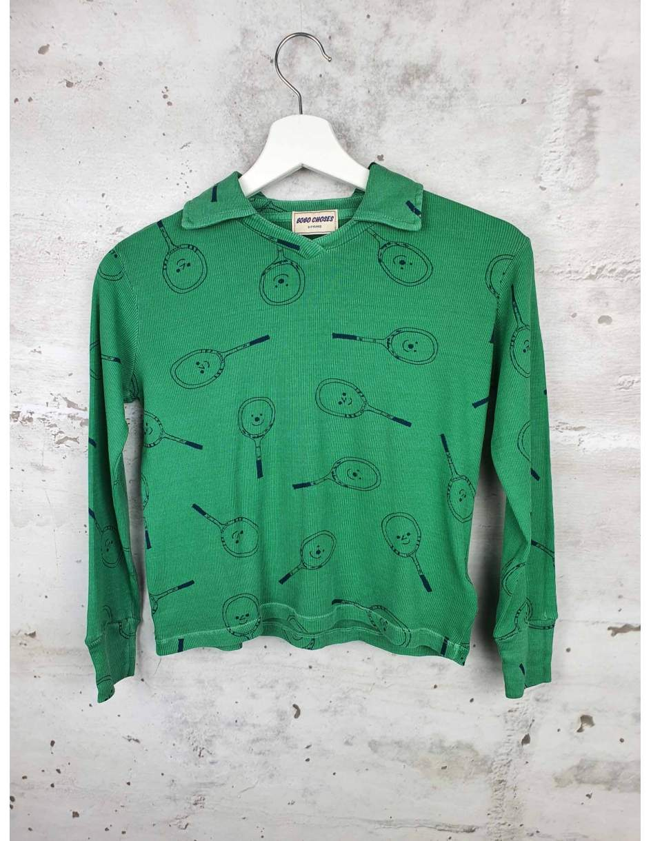 Green blouse Bobo Choses pre-owned
