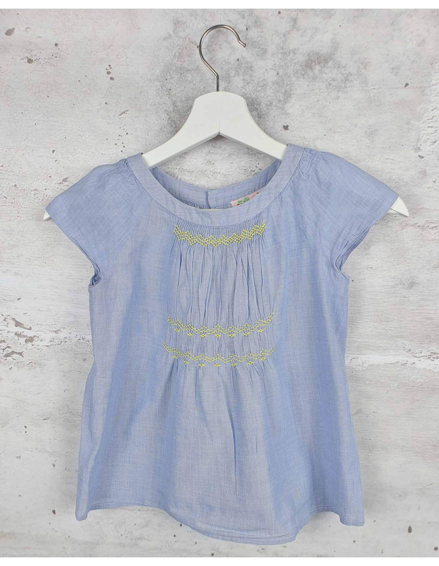 Blue blouse Bonpoint pre-owned