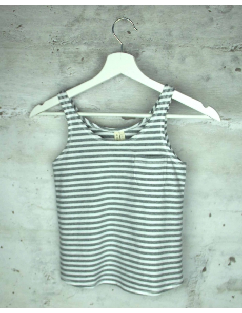 Gray striped T-shirt GRAY LABEL pre-owned