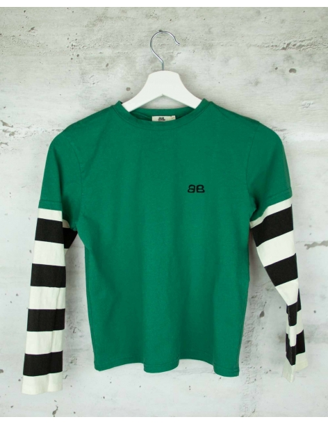 Green blouse Bandy Button pre-owned