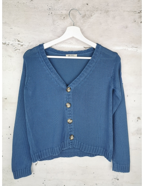 Blue sweater with buttons Bobo Choses pre-owned
